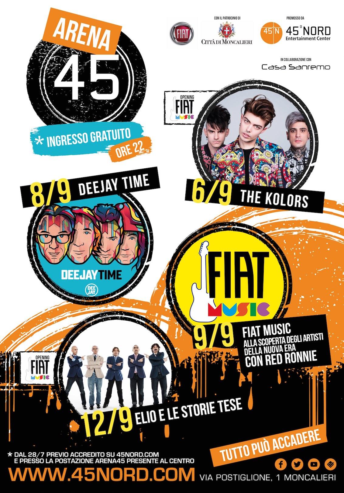 fiat-music-the-kolors-elio-e-le-storie-tese-deejay-time-arena-45-moncalieri-torino-2017